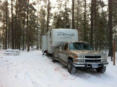 RV Travel in the Snow